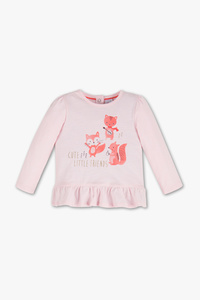 Baby Club         Baby-Langarmshirt - Bio-Baumwolle