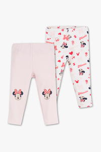 Baby Club         Minnie Maus - Baby-Leggings - 2er Pack