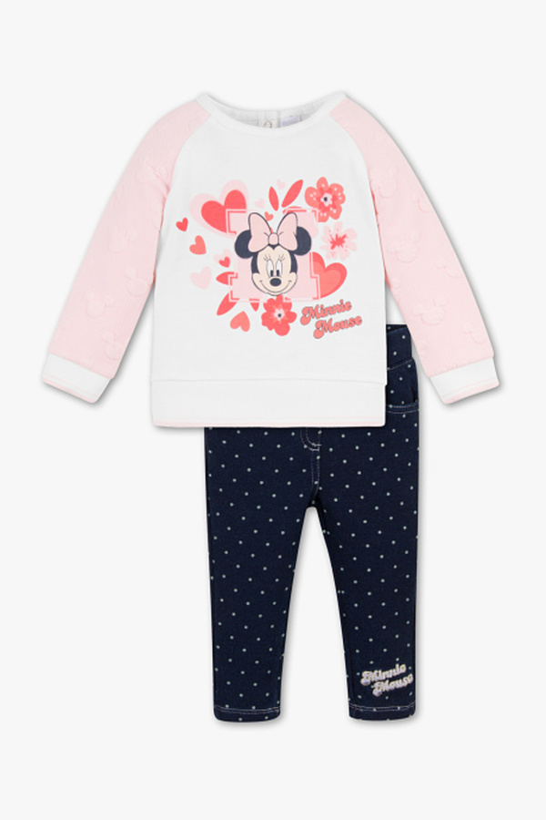 Disney Baby         Minnie Maus - Baby-Outfit - 2 teilig