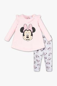Disney Baby         Minnie Maus - Baby-Outfit - Bio-Baumwolle - 2 teilig