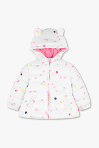 Baby Club         Baby-Steppjacke - gepunktet