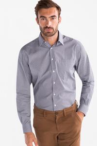 Canda         Businesshemd - Comfort Fit - Kent - gemustert