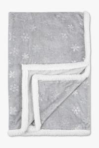 Weihnachtsdecke - 130 x 170 cm - Glanz Effekt