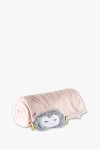 Clockhouse         Set - Fleecedecke und Schlafmaske