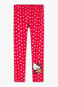 Hello Kitty - Leggings - Glanz Effekt