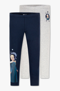 Disney Girls         Die Eiskönigin - Leggings - Bio-Baumwolle - 2er Pack