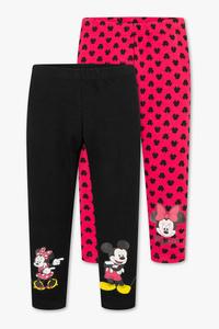 Minnie Maus - Leggings - Bio-Baumwolle - 2er Pack