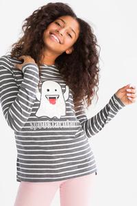 Emoji - Langarmshirt - Glanz Effekt
