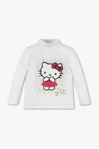 Hello Kitty - Langarmshirt - Bio-Baumwolle - Glanz Effekt