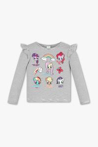 My Little Pony - Langarmshirt - Bio-Baumwolle - gestreift