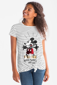 Disney - Kurzarmshirt - gestreift