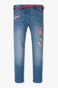 Disney Girls         Minnie Maus - Jeans mit Gürtel  - Glanz Effekt