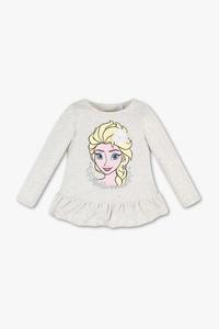 Disney Girls         Die Eiskönigin - Langarmshirt - Bio-Baumwolle - Glanz Effekt