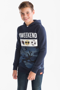 Here and There         Emoji - Sweatshirt