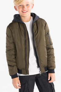 Here and There         Bomberjacke - 2-in-1-Look