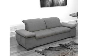 HARDi - Garnitur Milan in grau, 2,5-Sitzer