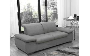HARDi - Garnitur Milan in grau, 2-Sitzer