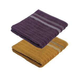 Home Duschtuch mit trendigen Streifen, 70x140cm