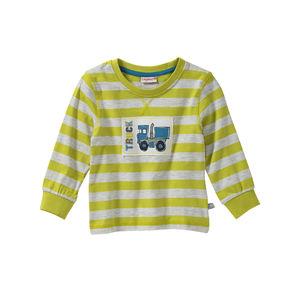 Liegelind Baby-Jungen-Shirt mit LKW-Applikation