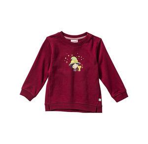 Liegelind Baby-Mädchen-Sweatshirt mit Hexen-Frontaufdruck