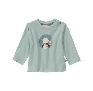 Liegelind Baby-Jungen-Shirt mit Eisbär-Frontaufdruck
