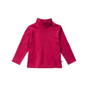 Liegelind Baby-Mädchen-Shirt mit kleinem Rollkragen