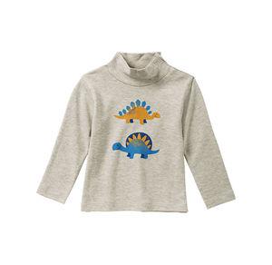Liegelind Baby-Jungen-Shirt mit süßem Dino-Frontaufdruck
