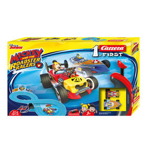 "Carrera                Disney                 FIRST Rennbahn ""Mickey and the Roadstar Racers"" 1"