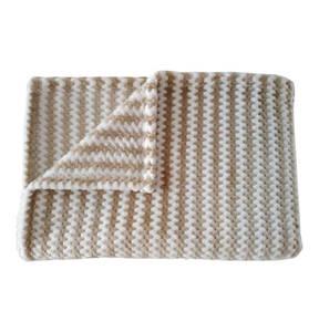 GALERIA SELECTION             Velourswohndecke, 100% Polyester, flauschig und kuschelweich, 150 x 200 cm