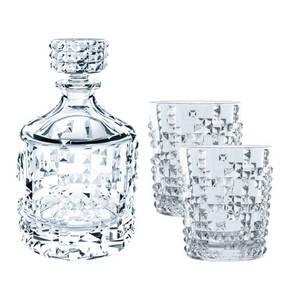 """Nachtmann             Whisky-Set """"Punk"""", bestehend aus 1 Dekanter und 2 Whiskybechern, 3-teilig"""
