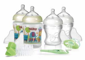 Nuby New Born Starter Set Grün
