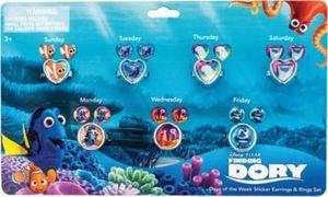 Sticker- Ohrringset Findet Dory Mädchen Kinder