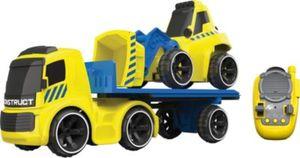 RC Baustelle Tieflader mit Bulldozer (ohne Funktion)