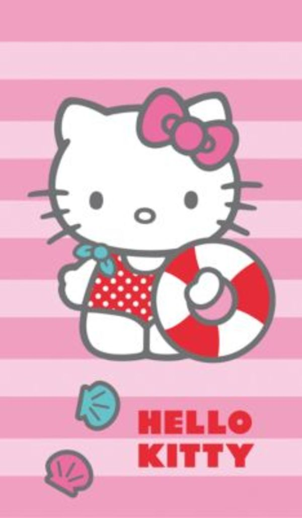 Strand- / Badetuch Hello Kitty, 70 x 120 cm