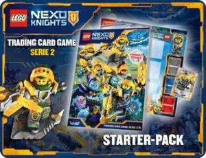 Lego Nexo Knights Serie 2 Sammelkarten Starter-Pack
