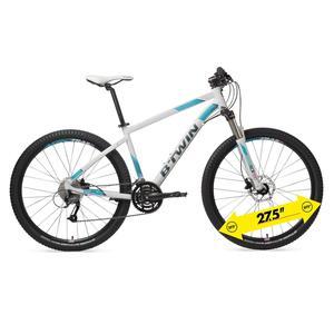 Mountainbike 27,5 Rockrider 540 Alu Damen weiß/türkis