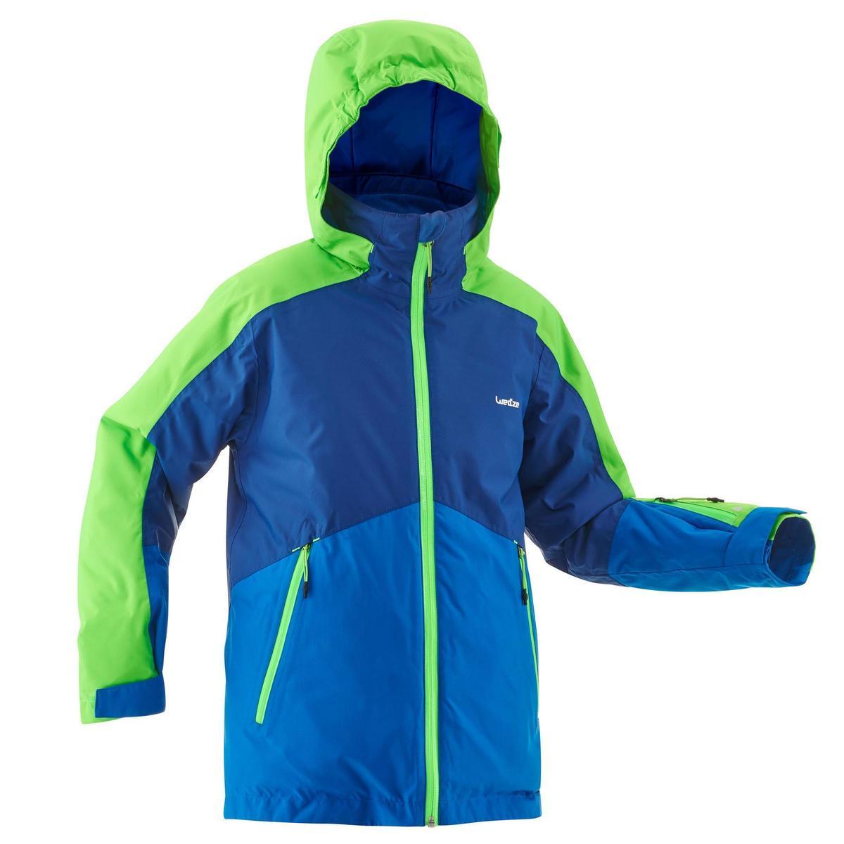 Bild 1 von Skijacke 580 Kinder blau/grün