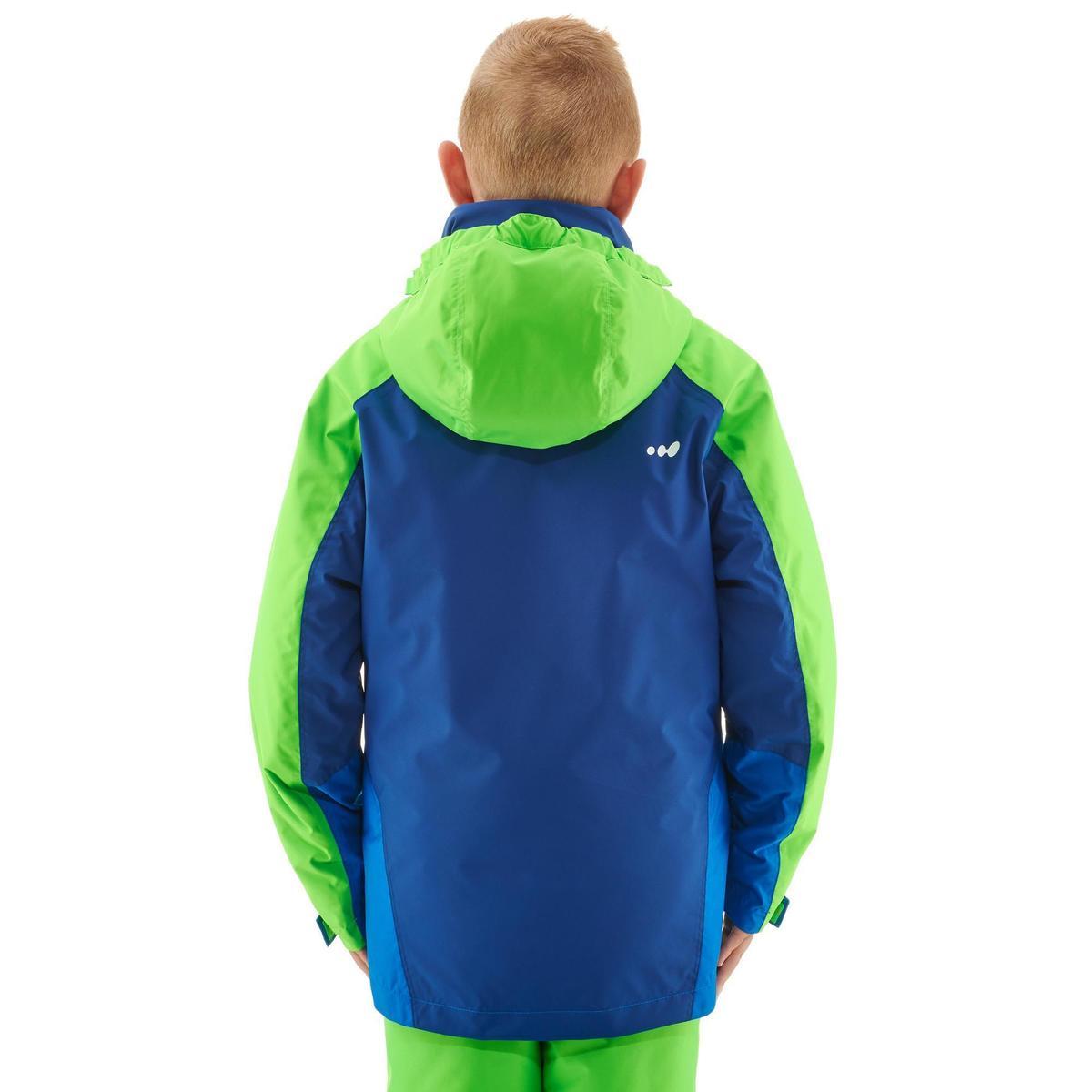 Bild 4 von Skijacke 580 Kinder blau/grün