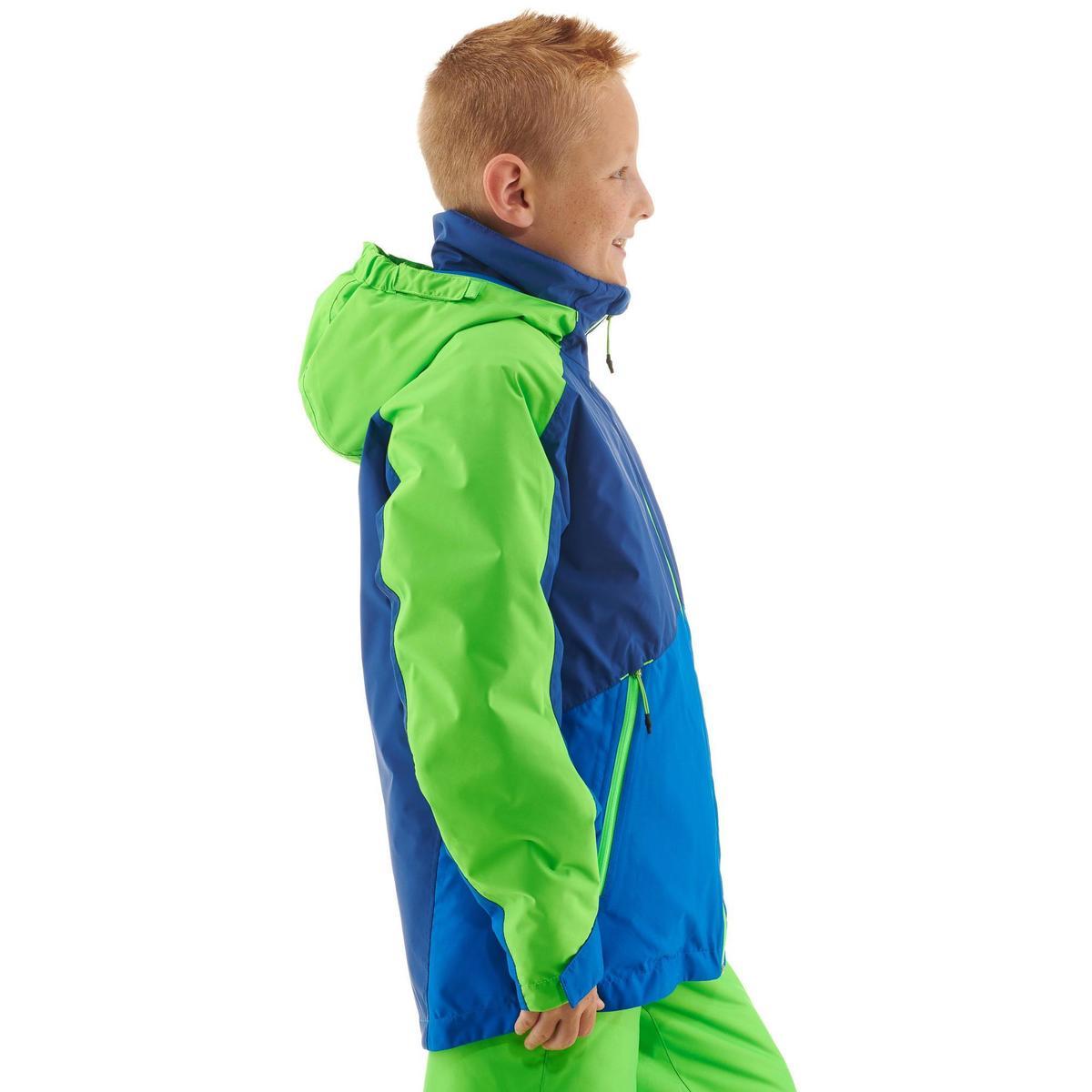 Bild 5 von Skijacke 580 Kinder blau/grün