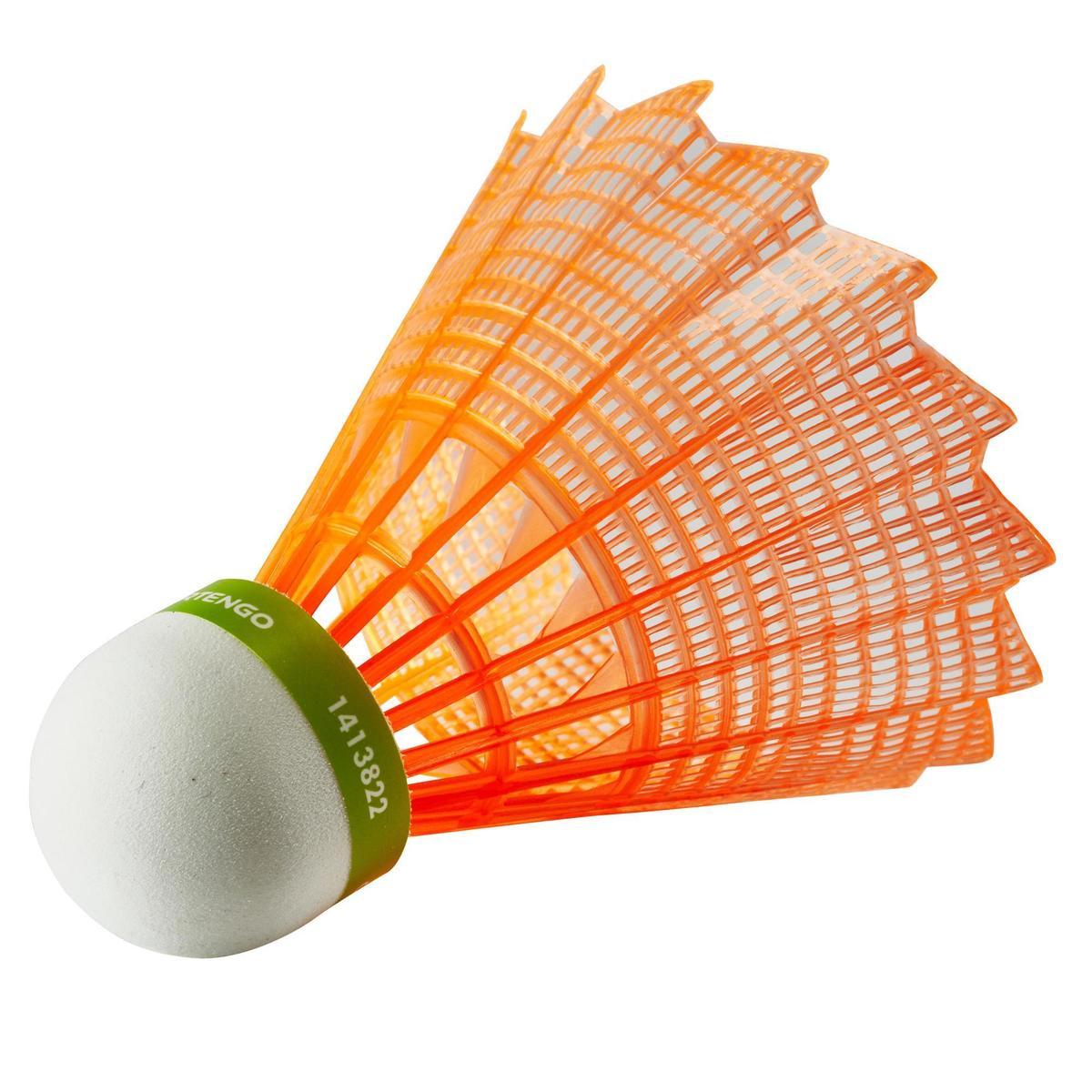 Bild 2 von Badmintonball Federball BSC700 Kunststoff 1 Stk. orange