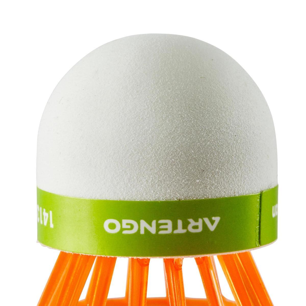Bild 3 von Badmintonball Federball BSC700 Kunststoff 1 Stk. orange