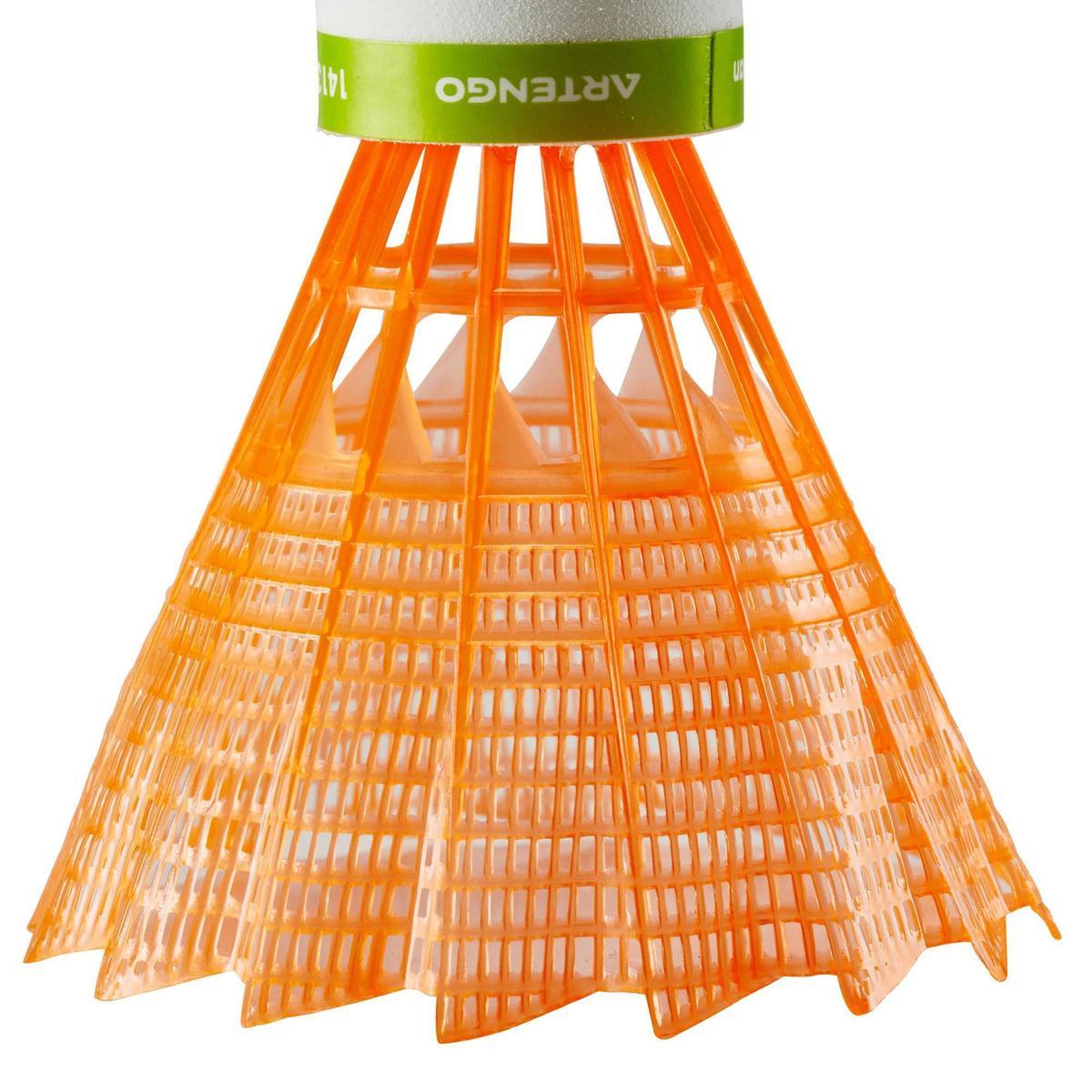 Bild 4 von Badmintonball Federball BSC700 Kunststoff 1 Stk. orange