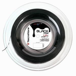 Tennissaite Black Code 1,24 mm Monofaser 200 m schwarz