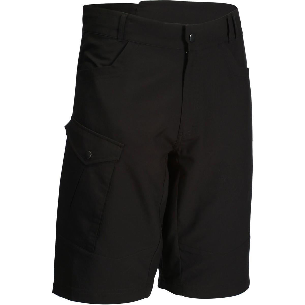 Bild 1 von MTB-Shorts 500 Herren schwarz