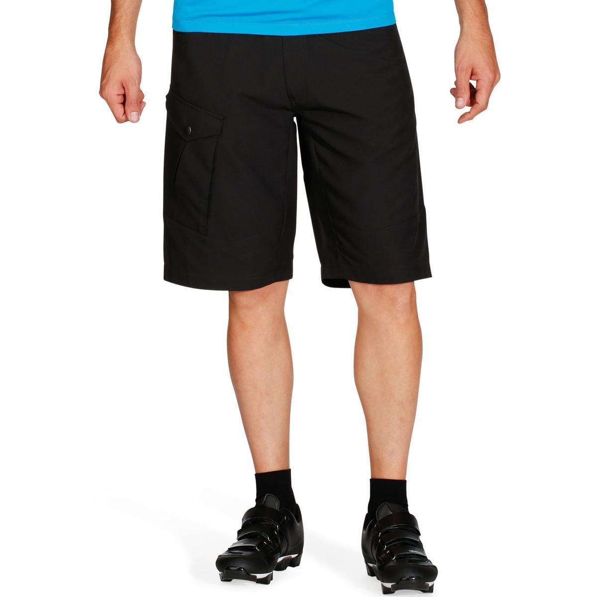 Bild 2 von MTB-Shorts 500 Herren schwarz
