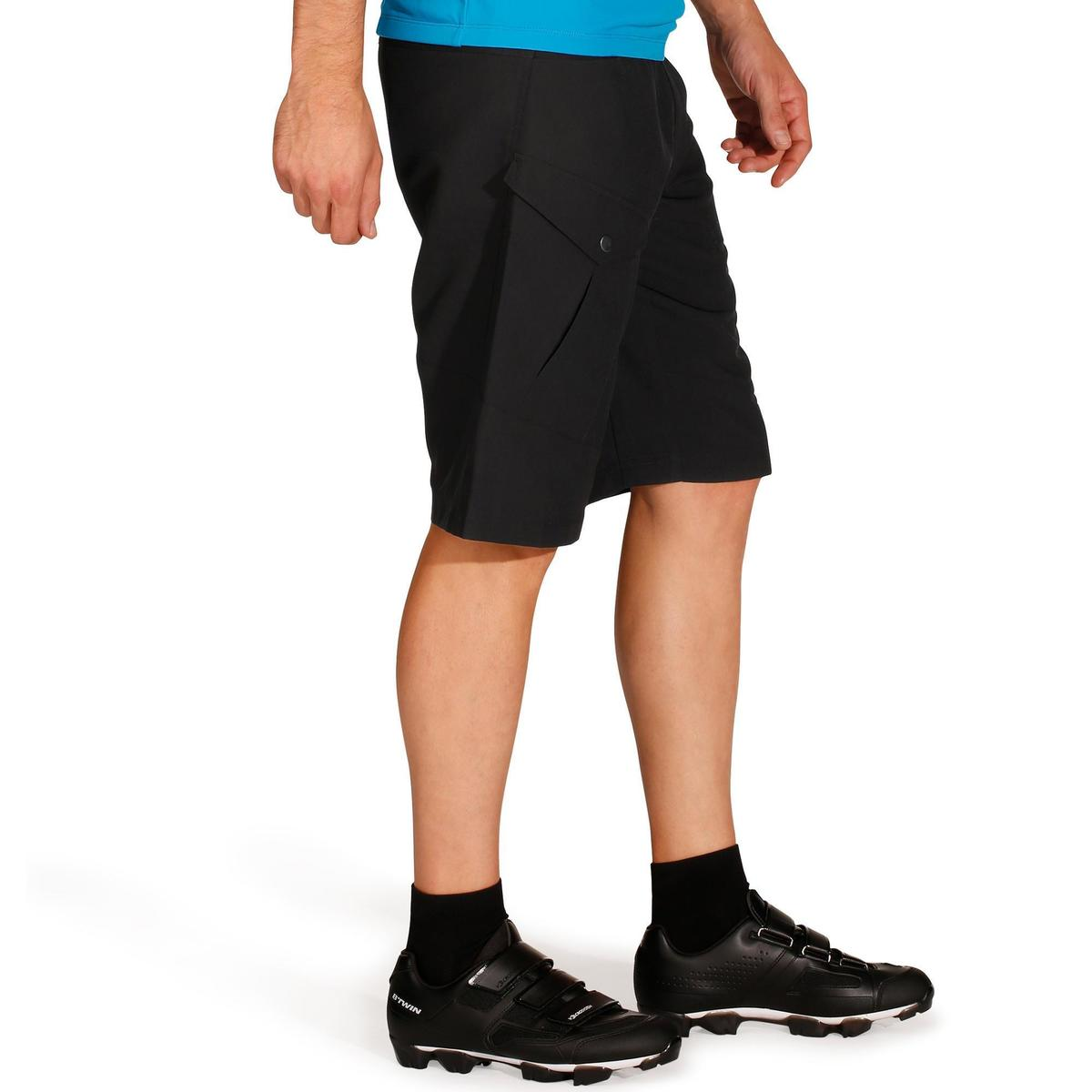 Bild 3 von MTB-Shorts 500 Herren schwarz
