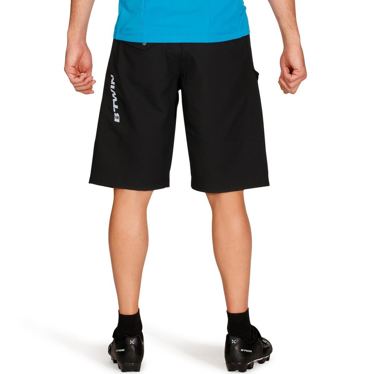 Bild 4 von MTB-Shorts 500 Herren schwarz