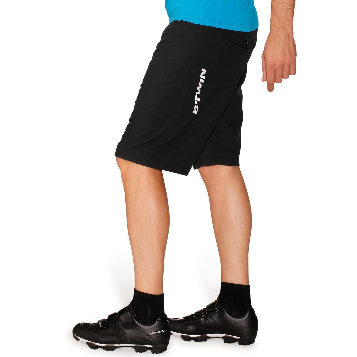 Bild 5 von MTB-Shorts 500 Herren schwarz