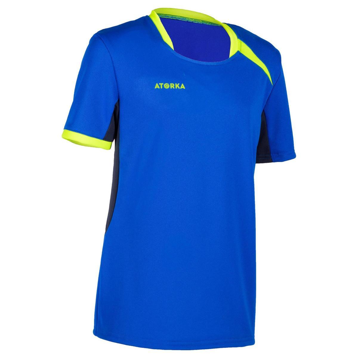 Bild 1 von Handballtrikot H100 Kinder blau/gelb