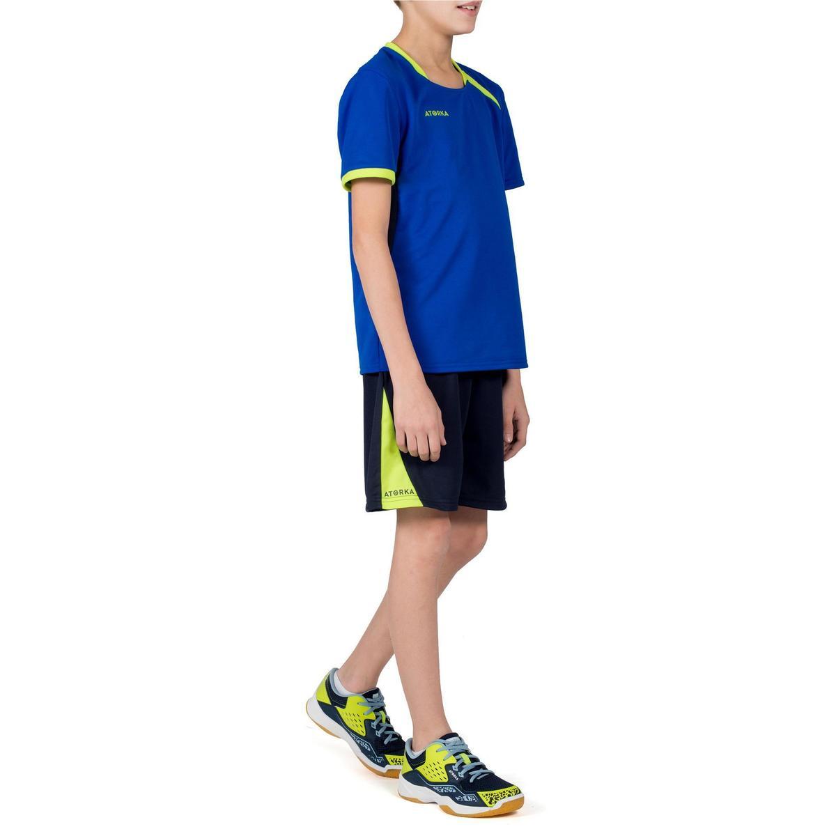 Bild 2 von Handballtrikot H100 Kinder blau/gelb